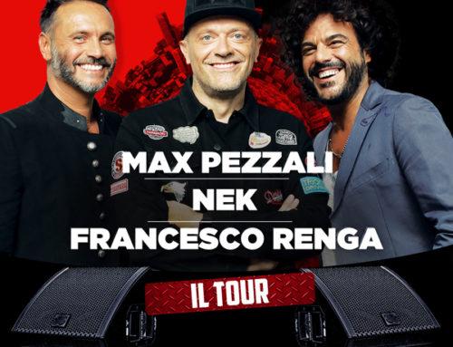 UNIPOL ARENA: MAX PEZZALI – NEK – FRANCESCO RENGA 18/04/2018 – TARIFFE LOW COST